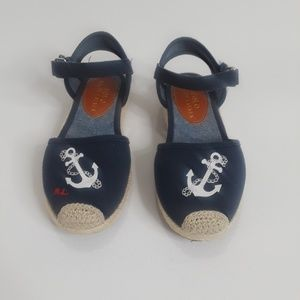 Ralph Lauren Girl wedge Sandals